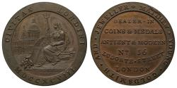 World Coins - Matthew Young Coin Dealer Penny 1798 London