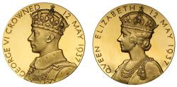 World Coins - Coronation of George VI, 1937