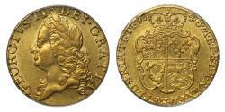 World Coins - George II 1748 Guinea AU50