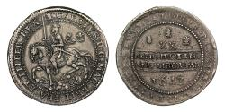 World Coins - Charles I 1643 Oxford Pound, finer obverse style