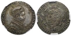 World Coins - Edward VI 1547 Pattern Shilling, date in Roman numerals