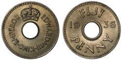 World Coins - Edward VIII, Penny, 1936.