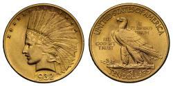 Us Coins - USA gold $10 1932 Philadelphia
