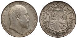 World Coins - Edward VII 1903 Halfcrown