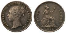 World Coins - Victoria 1855 Groat