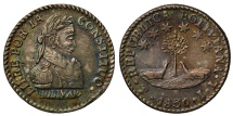 World Coins - Bolivia 1830 Half-Sol