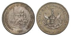 World Coins - 19th century silver token, John Robertson of Newcastle Upon Tyne