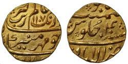 World Coins - Aurangzeb, Gold Mohur.