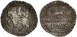 World Coins - Charles I 1642 Halfcrown Oxford mint