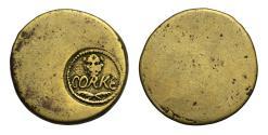 World Coins - Ireland, James II Cork siege countermark over William Ballard Token