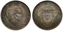 World Coins - Colombia, 1912 Proof 50-Centavos PF66