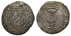 World Coins - Scotland, James VI Billon One Penny Plack