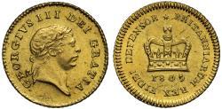 World Coins - George III 1809 Third-Guinea