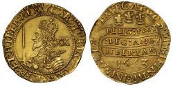 World Coins - Charles I 1643 Oxford Unite