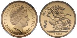 World Coins - Elizabeth II 2006 proof Two-Pounds PF70 UCAM