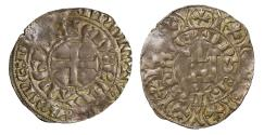 World Coins - Anglo Gallic, Edward II, silver Maille Blanche, with Irish title