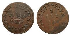 World Coins - Ireland, 18th Century Dublin Token Hutton Farthing