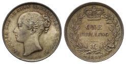 World Coins - Victoria 1859 Shilling