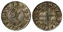 World Coins - Canute Penny Sudbury, quatrefoil type
