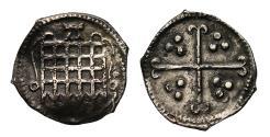 World Coins - Elizabeth I Halfpenny mintmark A