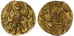 World Coins - Kushan, Shaka, Gold Stater.