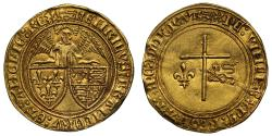 World Coins - Anglo-Gallic, Henry VI Angelot d'Or, Rouen Mint