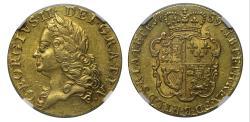 World Coins - George II 1759 Guinea AU50