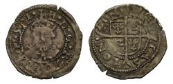 World Coins - Henry VIII Posthumous issue Penny, pellet stops, London