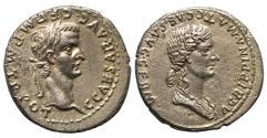 Ancient Coins - Caligula, Silver Denarius