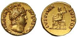 Nero, Gold Aureus, Mint of Rome, with Pedigree