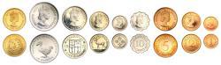World Coins - Mauritius Proof Set, 1971.