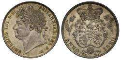 World Coins - George IV 1820 Halfcrown