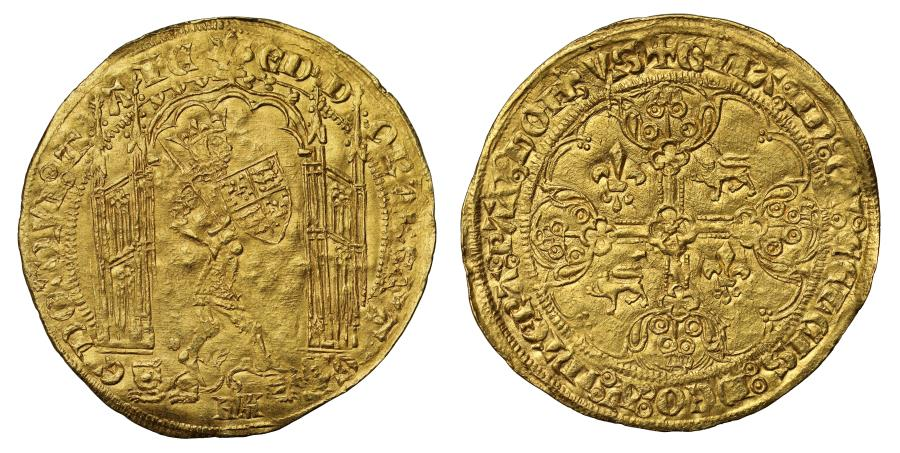 World Coins - Anglo Gallic, Edward III Guyennois d'Or, third issue, Bordeaux