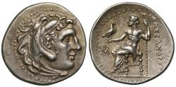 Ancient Coins - Macedon, Alexander III, Silver Drachm