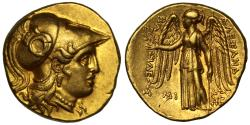 Macedon, Alexander III the Great, gold Stater, posthumous issue, Babylon