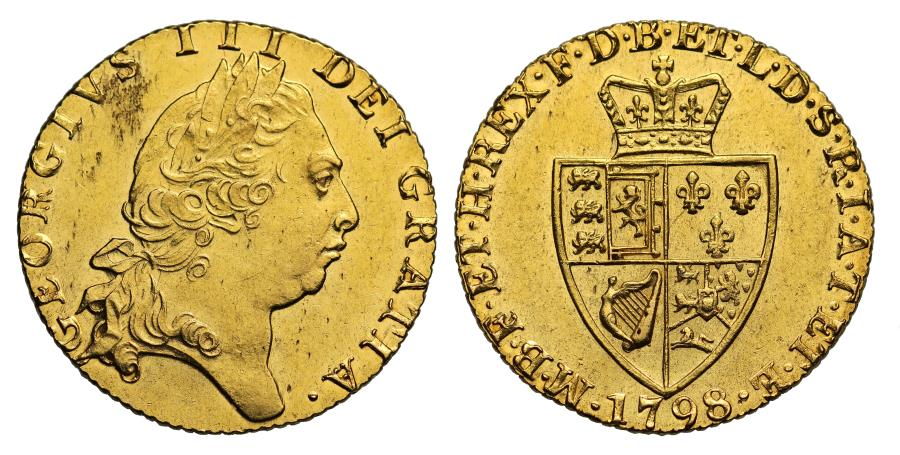 World Coins - George III 1798 Guinea