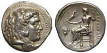 Ancient Coins - Macedon, Alexander III, Silver Tetradrachm, Memphis