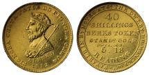 World Coins - Berkshire Reading 40 Shilling Monck