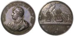 World Coins - The Bombardment of Algiers, 1816.