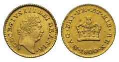 World Coins - George III 1800 Third-Guinea