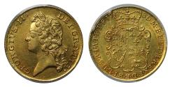 World Coins - George II 1739 Two-Guineas AU55