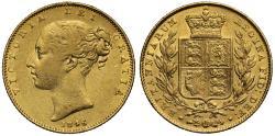 World Coins - Victoria 1846 Sovereign