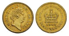 World Coins - George III 1803 Third-Guinea, final date for type