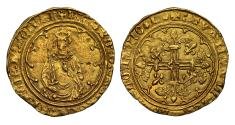 World Coins - Richard II gold Hardi d'Or Bordeaux