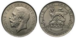 World Coins - George V 1923 Nickel Trial Shilling, extremely rare