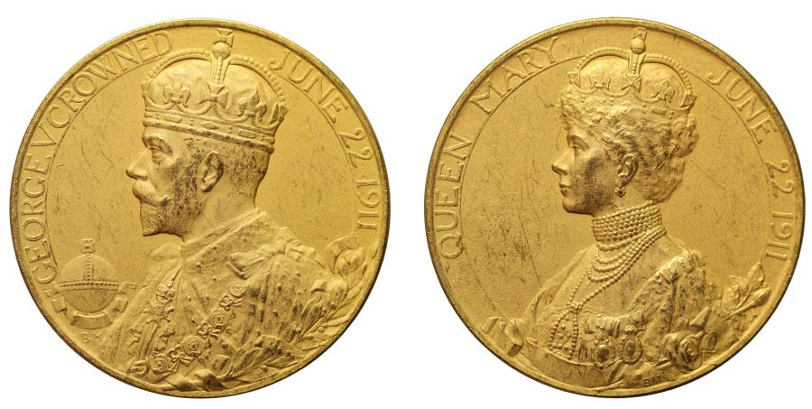 World Coins - Coronation of George V, 1911.