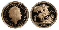 World Coins - Elizabeth II 2020 Two-Pounds PF70 ULTRA CAMEO