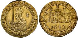 World Coins - Charles I 1642 Triple Unite Oxford mint