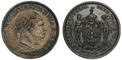 World Coins - Gold Coast, Ackey 1818