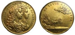 World Coins - Coronation of William & Mary, 1689.